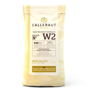 cioccolato bianco CALLEBAUT dischetti  1 kg