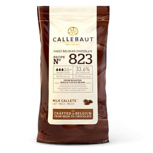 cioccolato al latte CALLEBAUT dischetti  1 kg