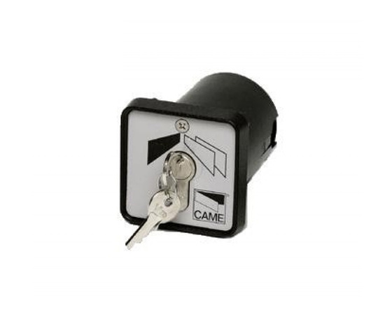 Selettore a chiave da incasso cilindro DIN SET-I