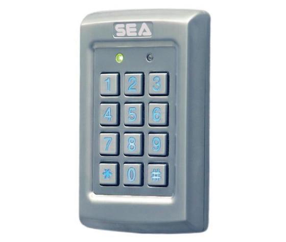 Tastiera in alluminio antivandalo per cancelli automatici fino a 1000 utenti