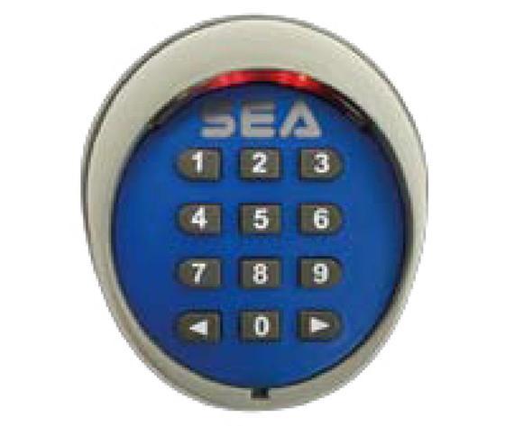 Combinatore a  tastiera da esterno 12 tasti illumnata 433MHZ con funzioni WIRELESS