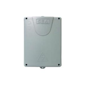 Contenitore  centrale apparecchiatura per 2 motore a 230v programmazione digitale  L. 245 x P.325 x H.143 mm