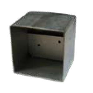 Contenitore in plastica per fotocellula infrarosso per cancelli automatici per incasso portata mt. 35