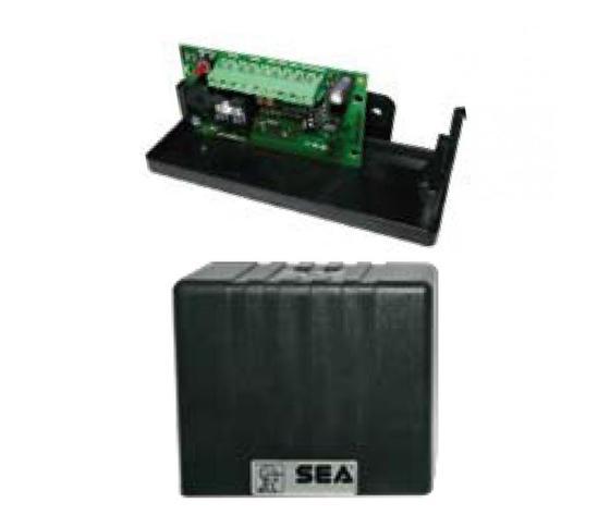 Ricevitore per coste radio 858 MHZ  da collegare alla centrale elettronica di gestione