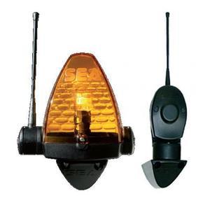 Supporto per lampeggiatore flash 24 x fissaggio a parete cancello automatico Sea