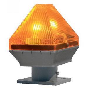 Lampeggiatore mini Sea per cancelli automatici - C. Sch. Lamp. 230V