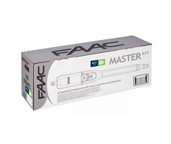Master Kit - KIT FAAC battente cancello automatico completo