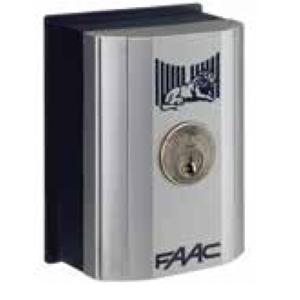 Pulsante a chiave da parete o colonnetta T10E FAAC