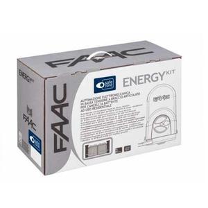 Energy Kit - KIT FAAC battente cancello automatico completo