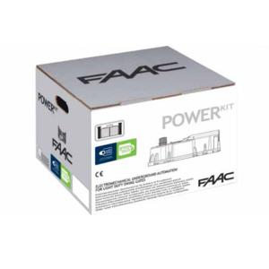 Power Kit - kit faac battente interrato cancello automatico