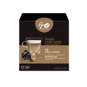 Go Caffè Linea Gusto Cortado | Shop Caffè Goriziana