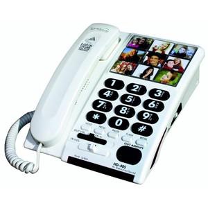 TELEFONO CON AMPLIFICAZIONE VOCE IN USCITA PER SOGGETTI CON DISFONIA HD-40S
