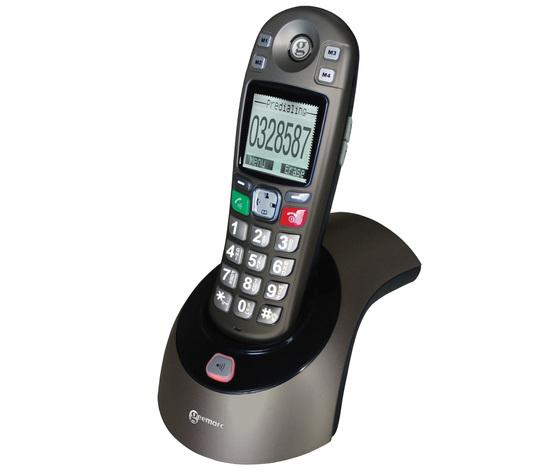 TELEFONO AMPLIFICATO CORDLESS AMPLIDECT-350
