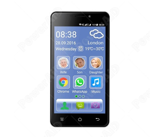 a456ff767b TELEFONO CELLULARE SMARTPHONE AMPLIFICATO eSmart M2 - DUAL SIM ...