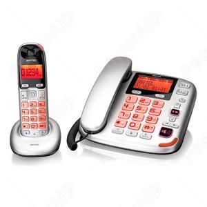 TELEFONO E CORDLESS AMPLIFICATO SWITEL DC-5872 COMBO
