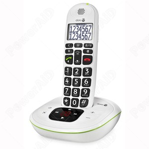 TELEFONO AMPLIFICATO CORDLESS DORO PHONE EASY 115