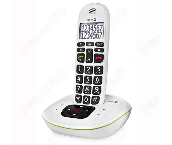 TELEFONO AMPLIFICATO CORDLESS DORO PHONE EASY 115