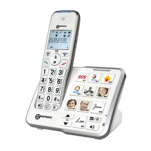 TELEFONO AMPLIFICATO CORDLESS AMPLIDECT-595 PHOTO