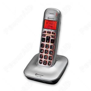 TELEFONO AMPLIFICATO CORDLESS AMPLICOMMS BIG TEL 1200