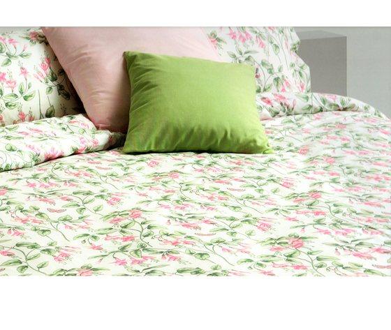 Fucsia Completo letto Bottaro in percalle di cotone