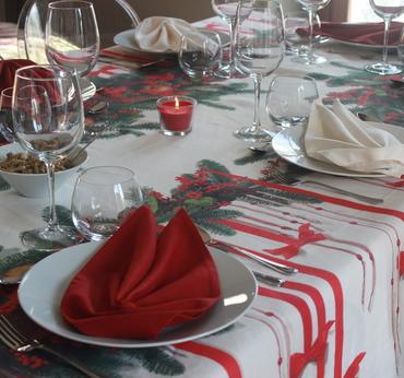 Natale 2017  tavola di natale  biancheria per la casa  borgo santa teresa %284%29