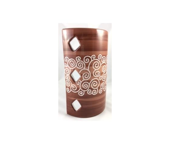 Tegola Lunga a parete Linea Cioccolato cm 30x19x9