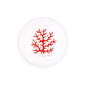 Piatto cm 32 Linea corallo rosso
