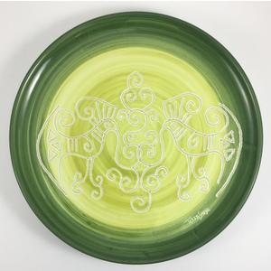 Piatto cm 32 Linea Verde sfumato