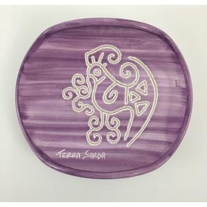 Portasaponetta Linea viola