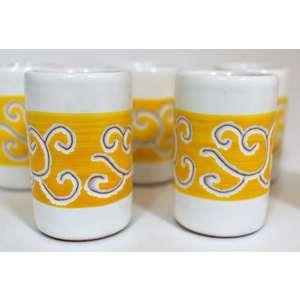 Set 6 Bicchieri mirto/liquore Linea Arancione