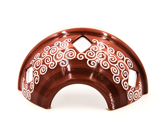 Applique cm 30 circa Linea Cioccolato