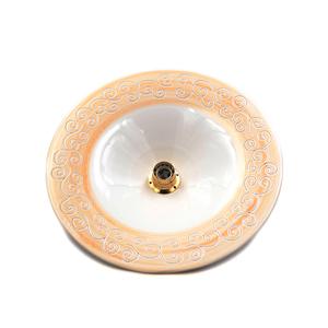 Lampadario 39 cm linea fascia beige