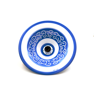 lampadario cm 30 linea fascia blu elettrica