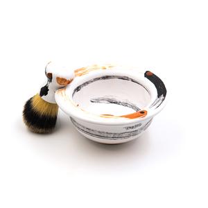 Set da barba Pennello + Ciotola linea Tharros