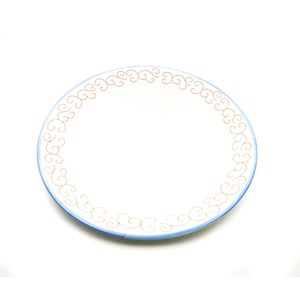 Centrotavola  bordo bluette