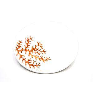 Centrotavola linea corallo bruno rossiccio