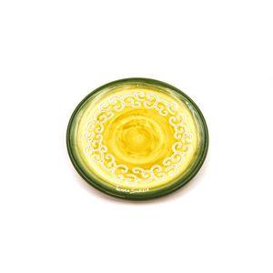 Piatto cm 16 linea verde sfumato