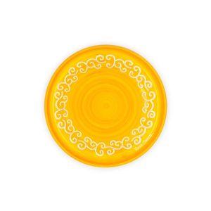 Piatto cm 23 Linea Arancione con riccioli