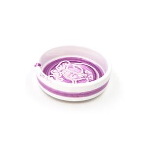 Portacenere dritto maxi Linea viola