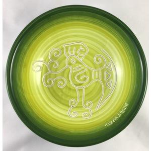 Ciotola cm 19 Linea verde sfumato