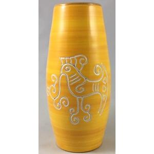 Vaso 1 litro dritto Linea Arancione