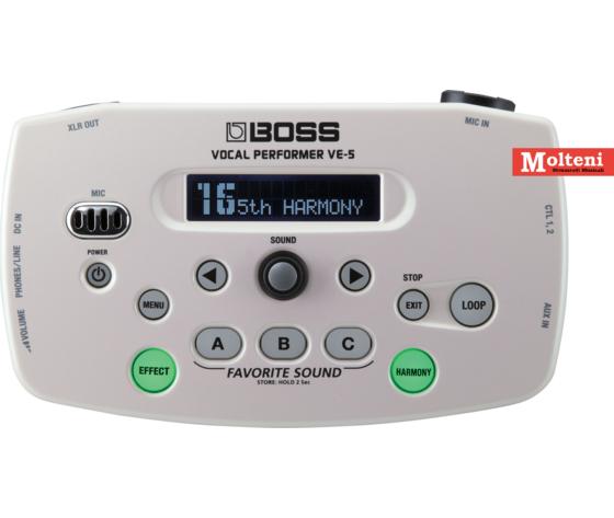 VE-5 multieffetto per voce - BOSS