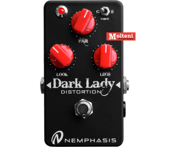 Dark lady Red knobs distortion NEMPHASIS