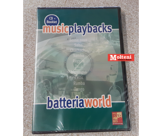 BASI BATTERIA WORLD MUSIC PLAYBACKS
