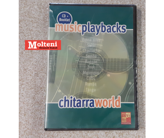BASI CHITARRA WORLD MUSIC PLAYBACKS
