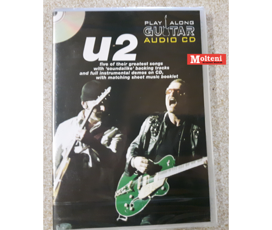 The U2 guitar playalong audio cd