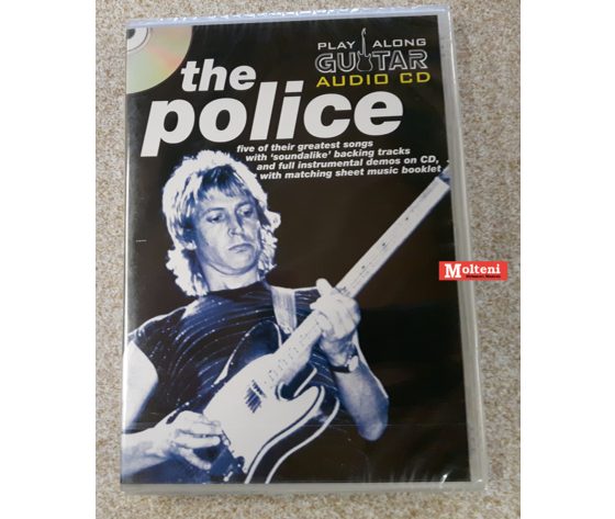 The Police guitar playalong audio cd