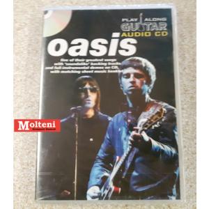 Oasis Guitar playalong audio cd