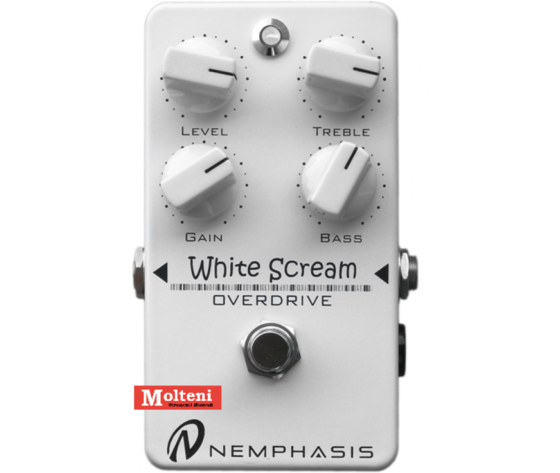 WHITE SCREAM OVERDRIVE NEMPHASIS