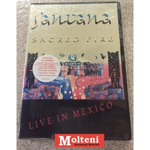 "SANTANA ""SACRED FIRE"" LIVE IN MEXICO"
